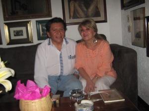 Adriana Quiróz y Alfonso Pedraza