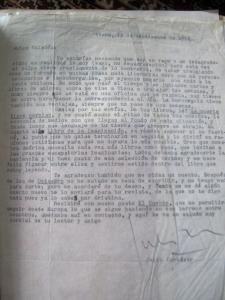 Carta de Julio Cortázar a Valadés