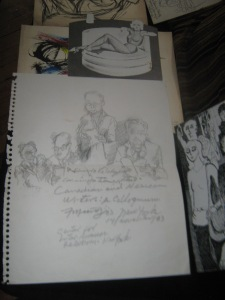 Originales de las viñetas para El cuento 2