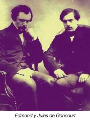 Edmond y Jules de Goncourt