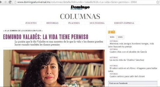 Ana Clavel homenaje a Valadés