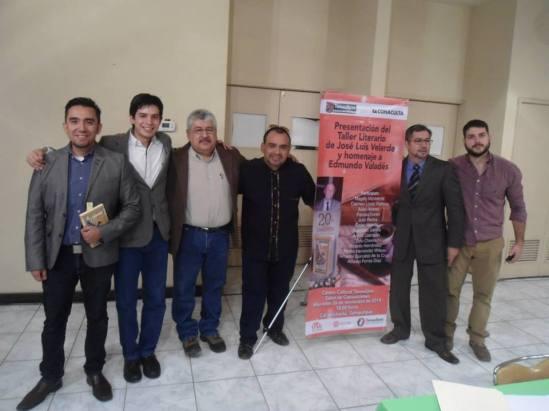 José Luis Velarde. y cartel Culiacan, 26NOV