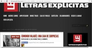 Letras explicitas- Valades