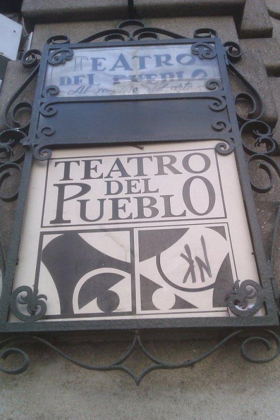 teatro del pueblo