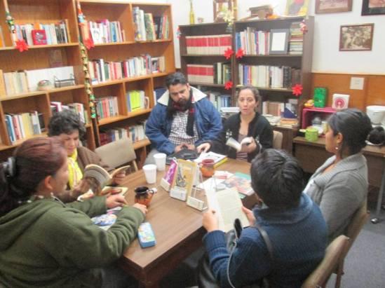 círculo de lectura2 Gloria