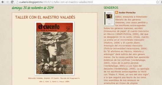 Homenaje a Valadés-Javier Perucho